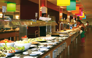 Restaurante Buffet Hotel Beach 3*