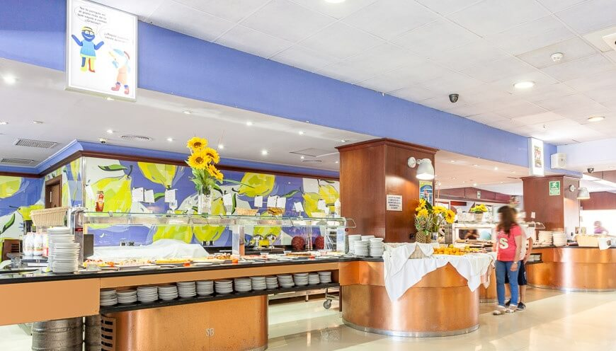 Buffet Hotel Marina d'Or 3*
