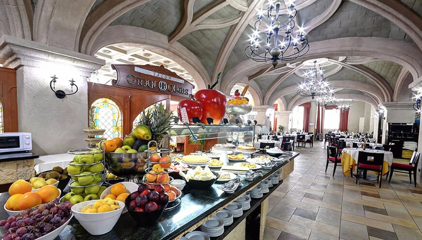 Buffet Marina d'Or 5* Hotel