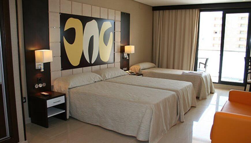 Double  Room with 3 beds and sofa-bed